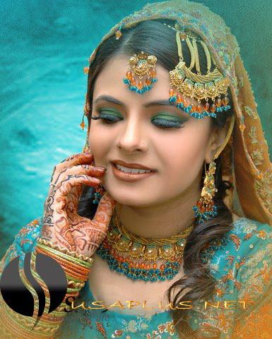 new pakistani bridal makeup www she9 blogspot com 81 - pakistani bride
